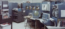 PDP-1 (1960), the machine on which the first computer game, Spacewar!, was made.