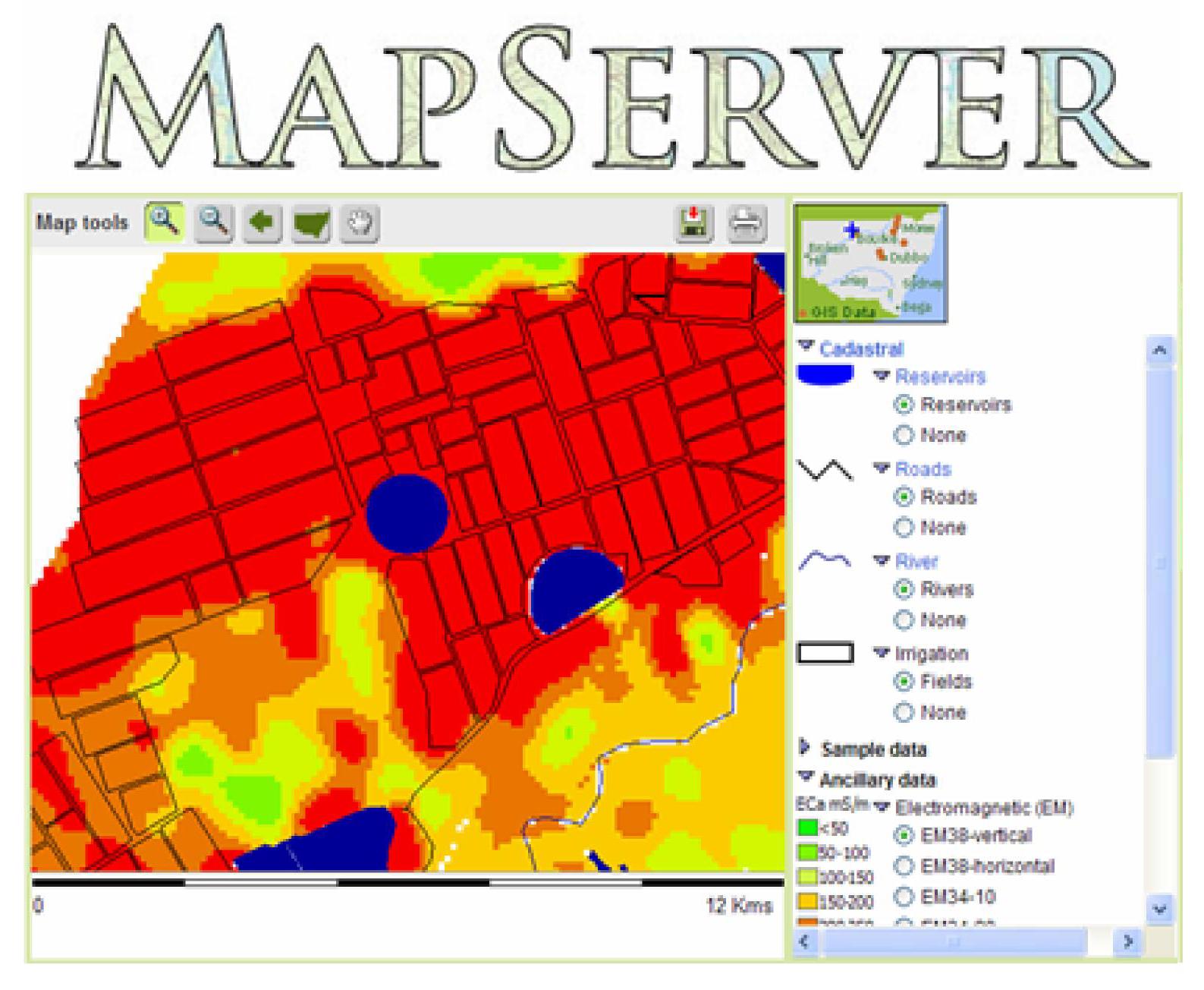 MapServer 1994