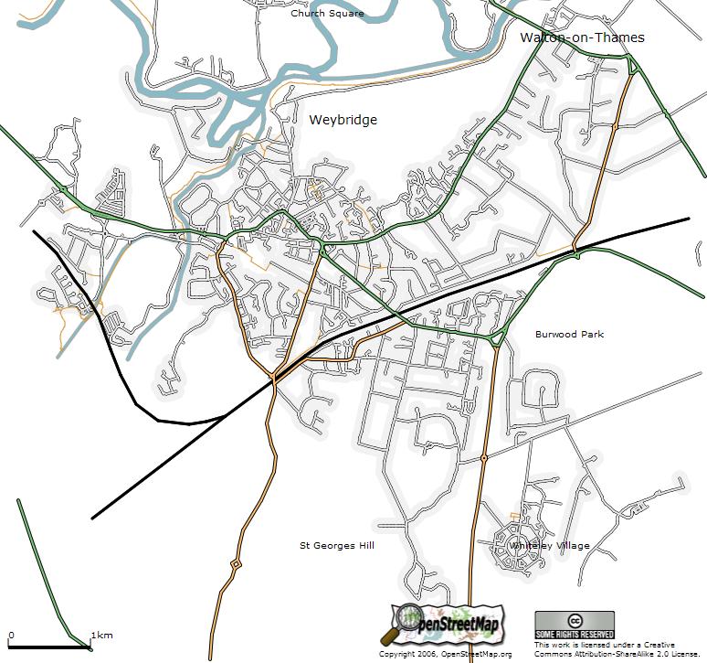 OpenStreetMap 2004