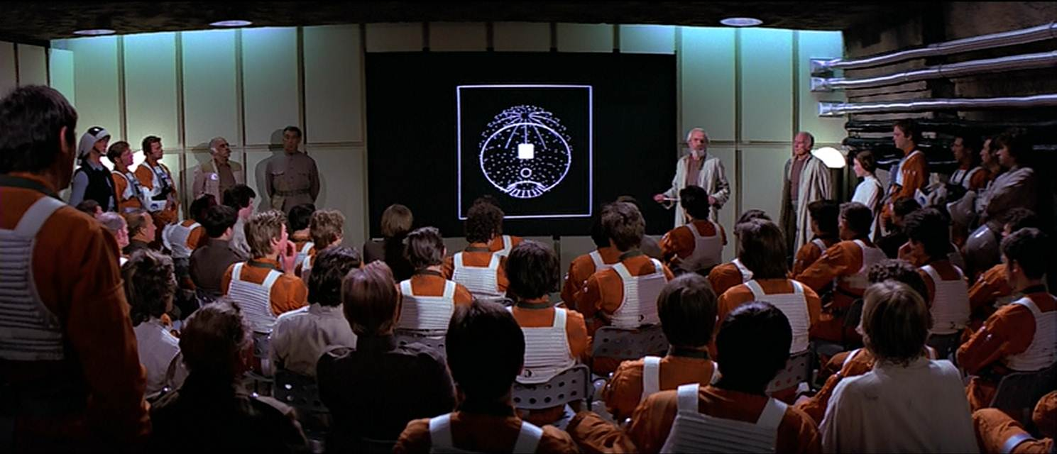 Death Star Briefing Sequence