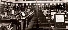 The telegraph room at The Munaneum